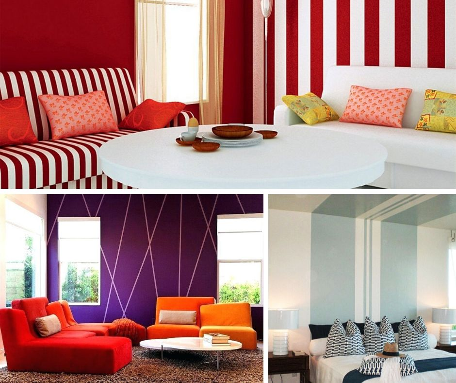 18 Awesome Striped Wall Design Ideas Ways To Paint Stripes On A Wall