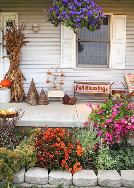 Best Vintage Porch Decor Ideas #10