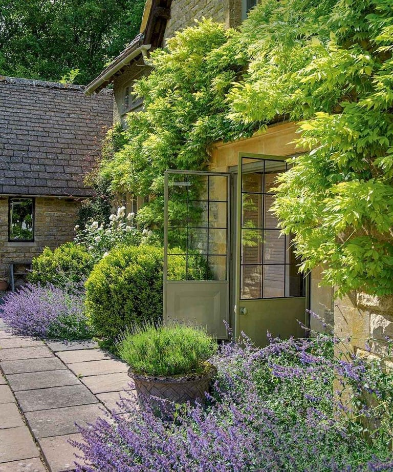Best cottage style garden ideas for landscaping #11