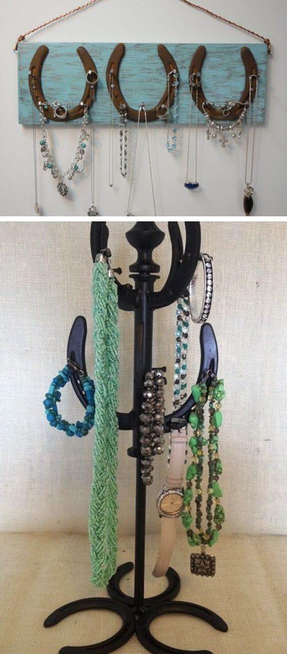 Horseshoe Jewelry Holder
