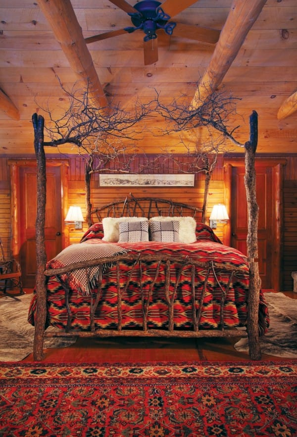 The Magical Rustic Branches Tree Bed