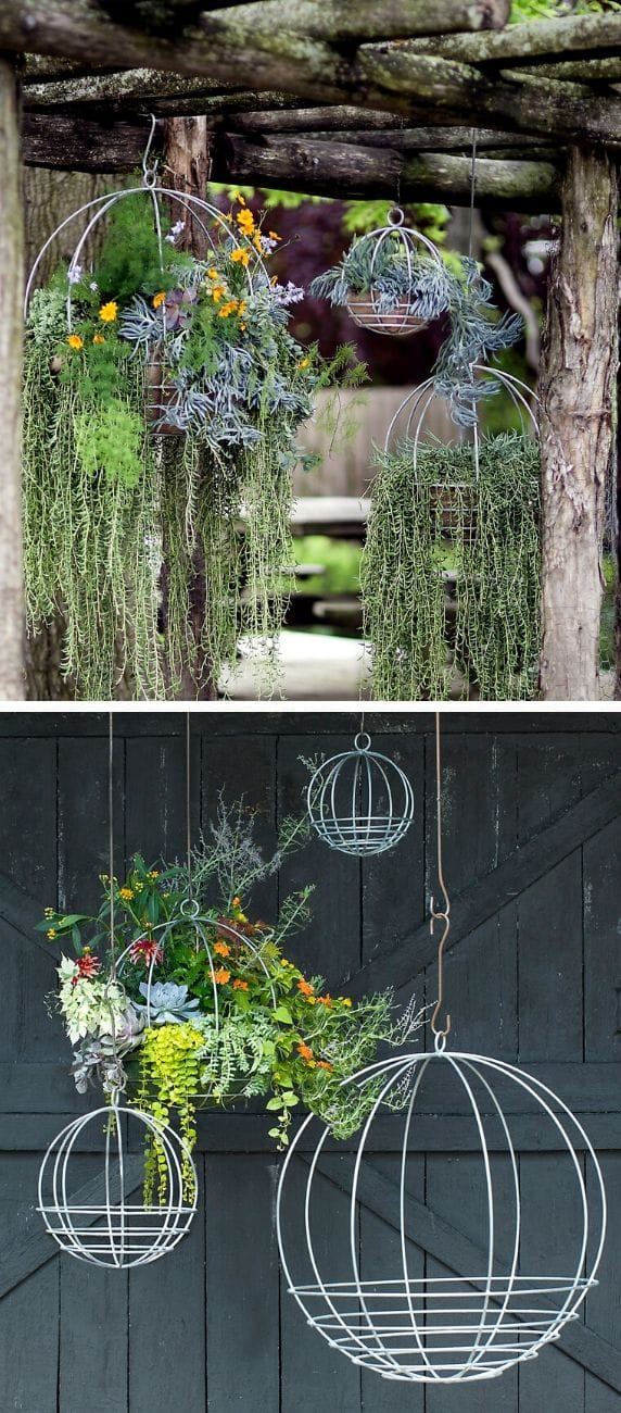 Best DIY outdoor hanging planter ideas and designs #12