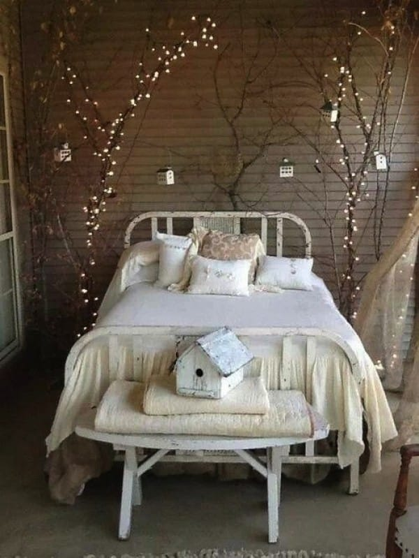 The Magical Lighted Branches Tree bed