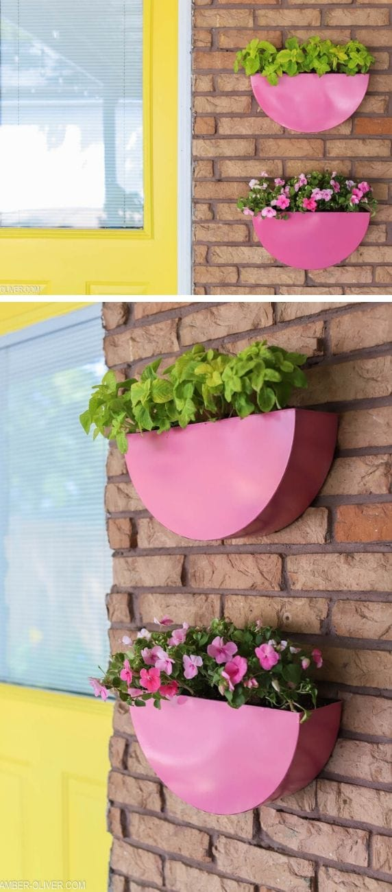 Best DIY outdoor hanging planter ideas and designs #13