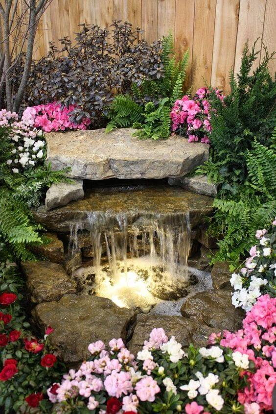 Cheap water feature