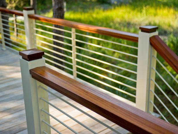 Unique DIY deck railing ideas and designs #14