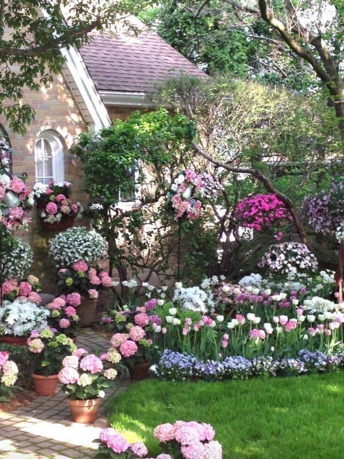 Best cottage style garden ideas for landscaping #15