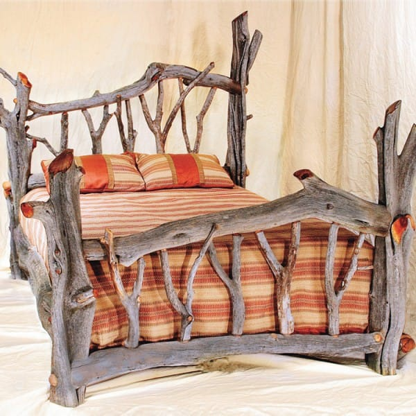 The Magical Driftwood Tree Bed