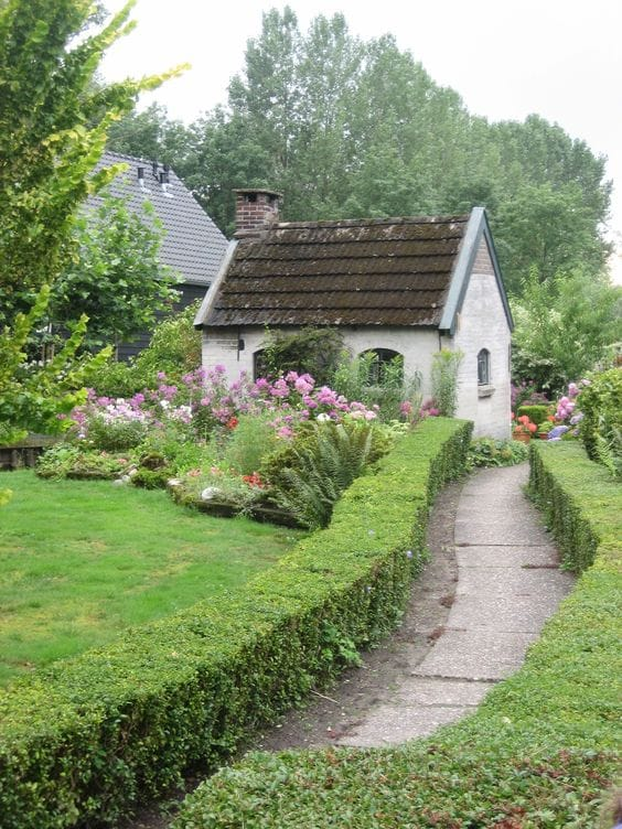 Best cottage style garden ideas for landscaping #17