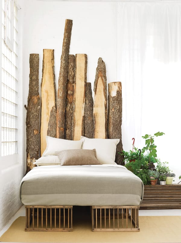 The Magical Trunk Headboard Tree Bed