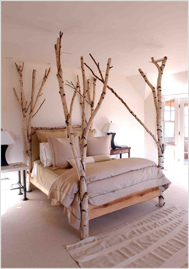 The Magical Birch-tree Tree Bed