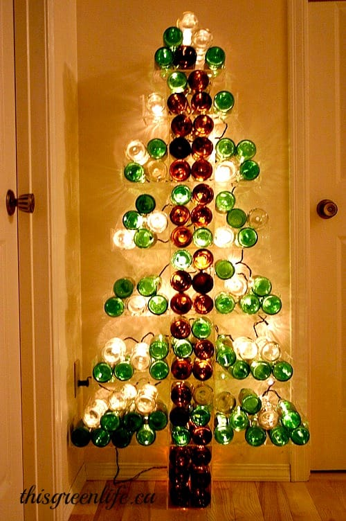 Repurposed Bottle Tree
