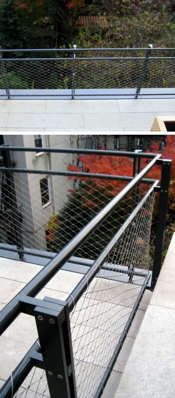 Unique DIY deck railing ideas and designs #19