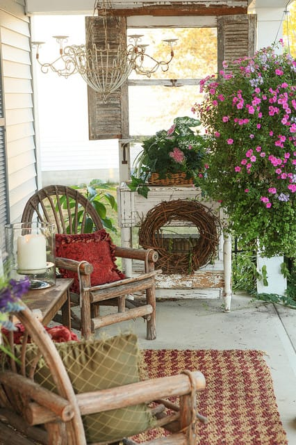 Best Vintage Porch Decor Ideas #2
