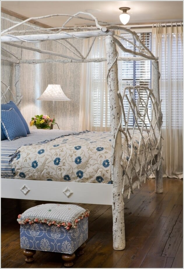 The Magical Branched Headboard and Footboard Tree Bed