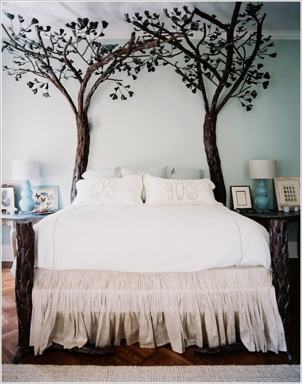 The Magical Headboard branched Tree Bed