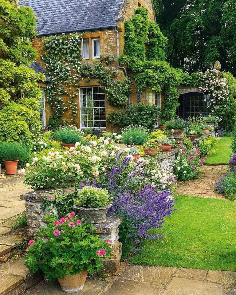 Best cottage style garden ideas for landscaping #22