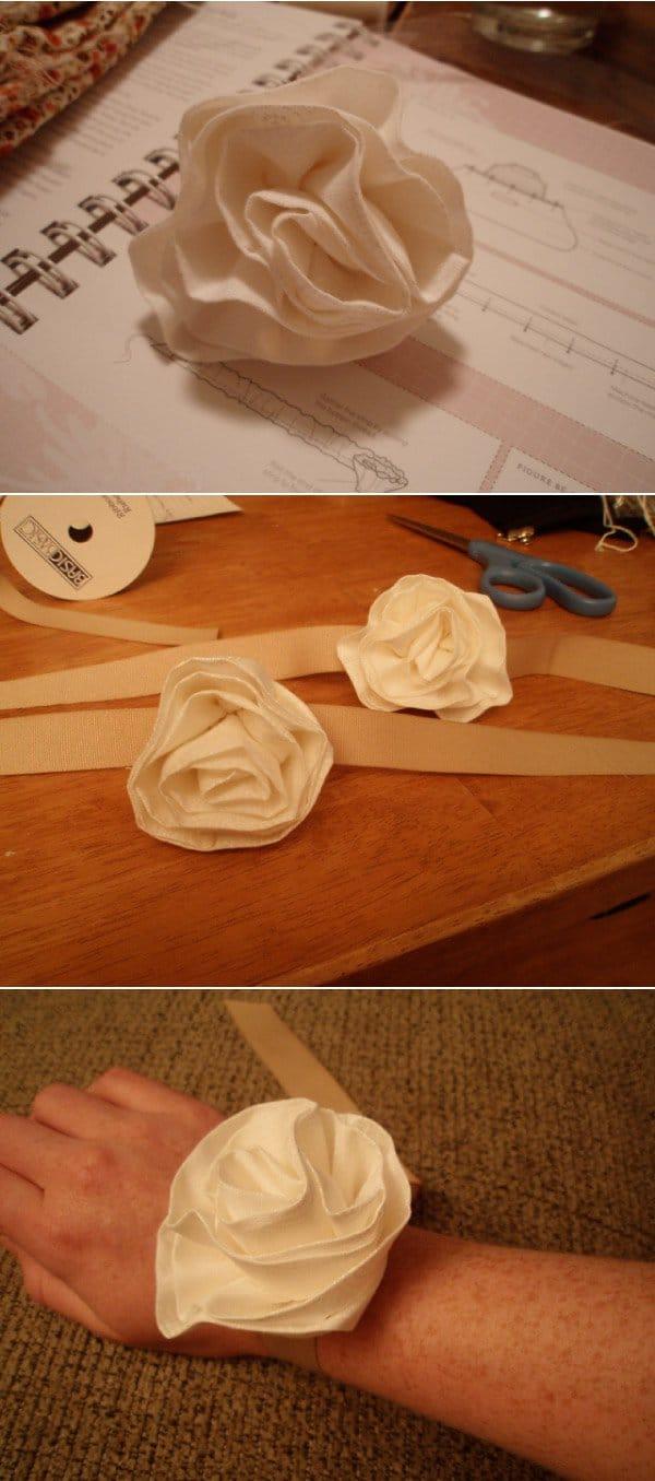 DIY Wrist Corsages