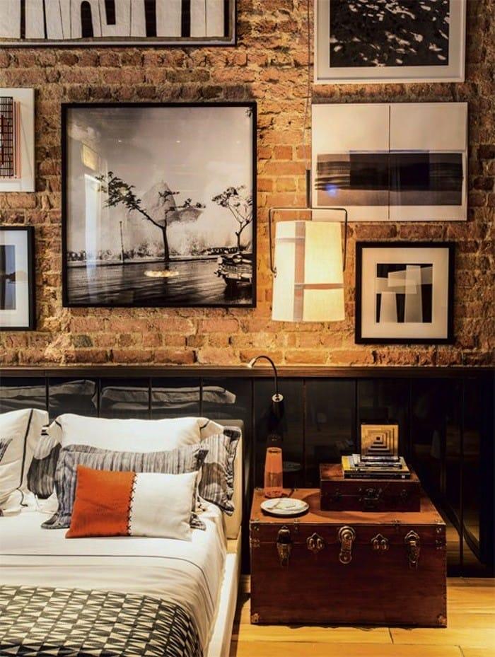 Bedroom Brick Wall Gallery