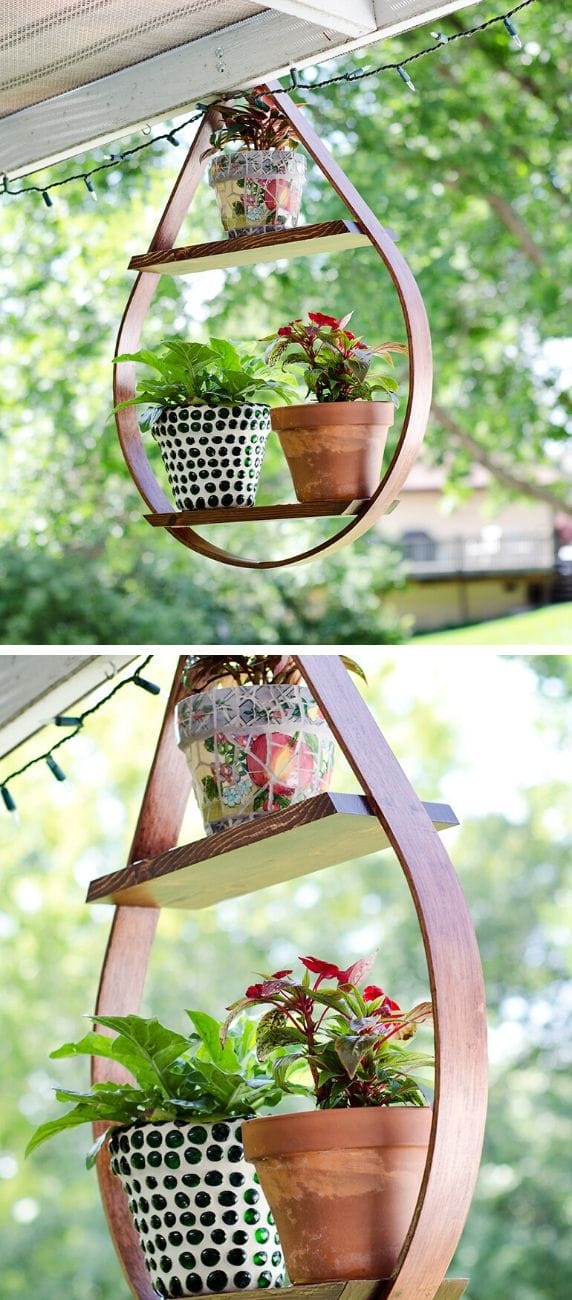 Best DIY outdoor hanging planter ideas and designs #23