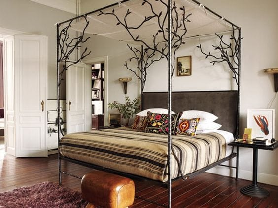 The Magical Canopy Tree Bed