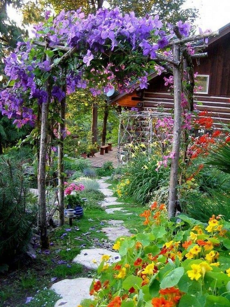Best cottage style garden ideas for landscaping #23