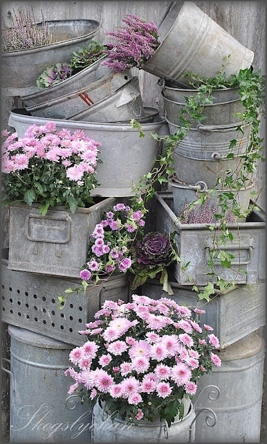 Best shabby chic vintage decor ideas #24