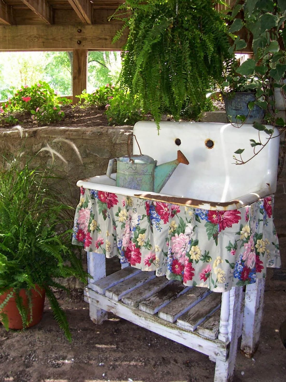 Best shabby chic vintage decor ideas #25
