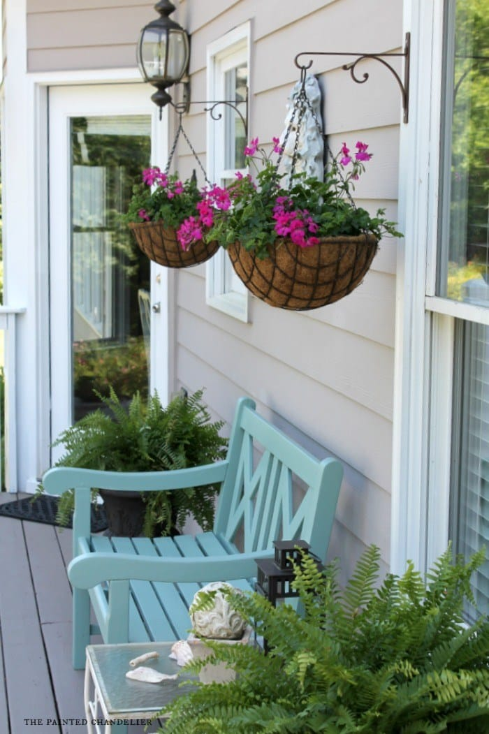 Best DIY outdoor hanging planter ideas and designs #26