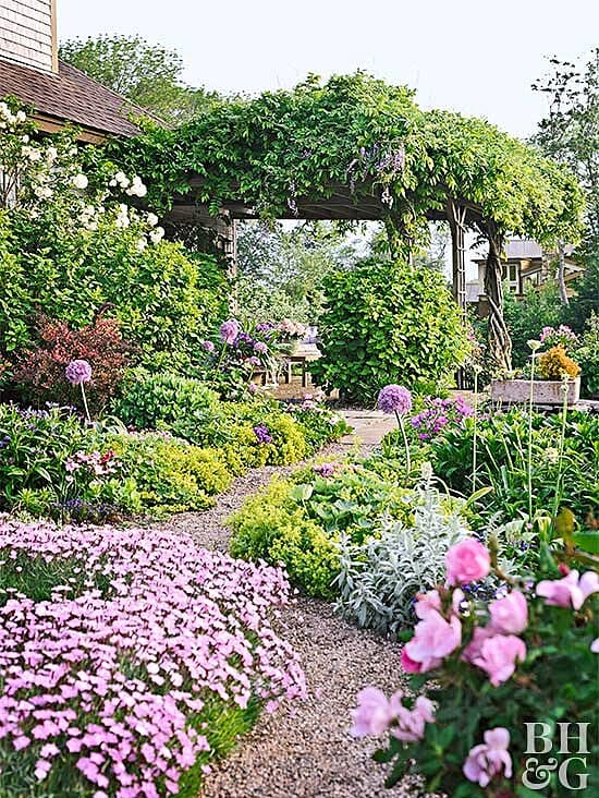 Best cottage style garden ideas for landscaping #3