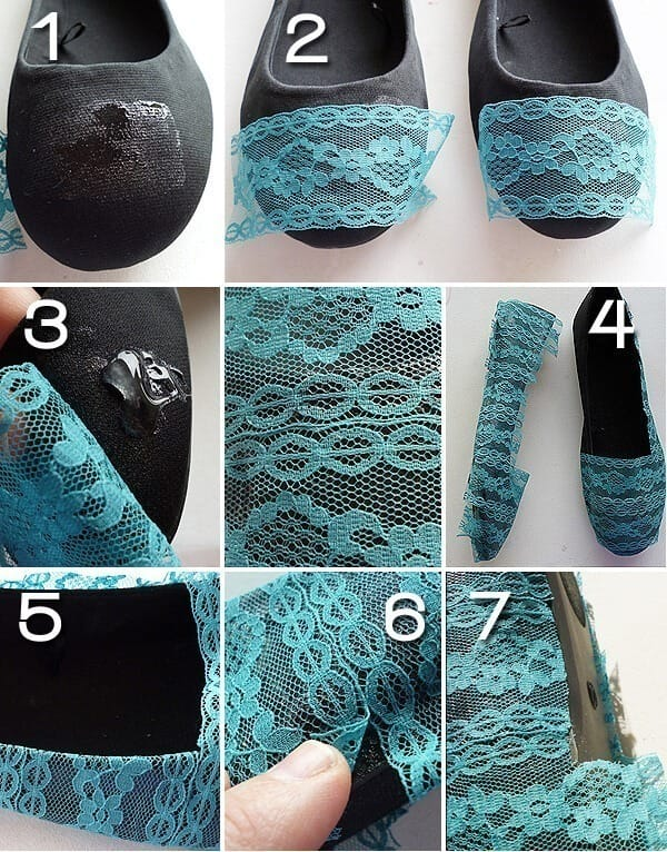 DIY Fashionable Shoes