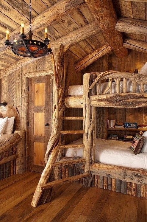 The Magical Double-bed Wooden Tree bed