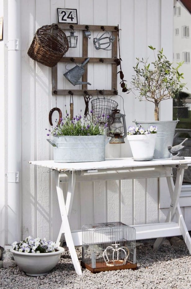 Best shabby chic vintage decor ideas #3