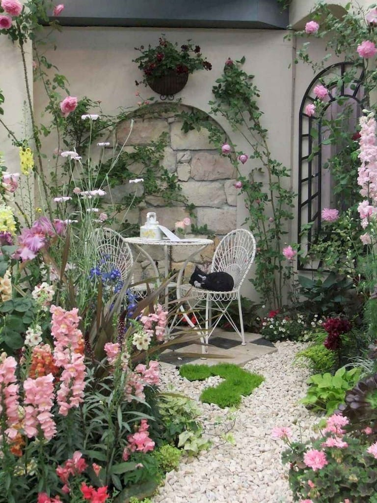 Best cottage style garden ideas for landscaping #29
