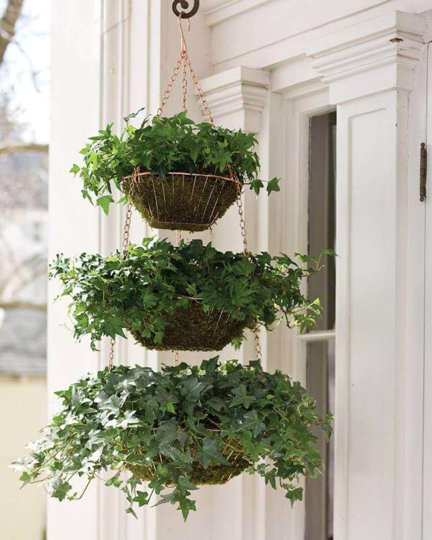 Best DIY outdoor hanging planter ideas and designs #31