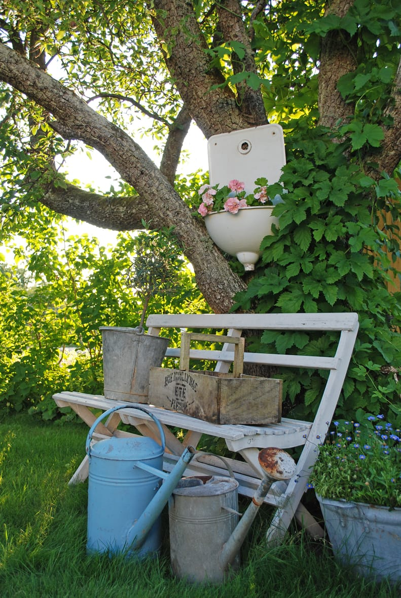 Best shabby chic vintage decor ideas #49