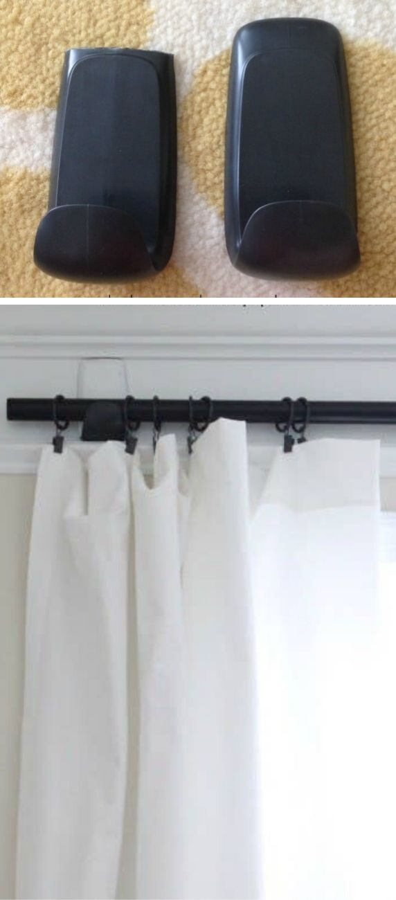 Command Hooks for Curtain Rods