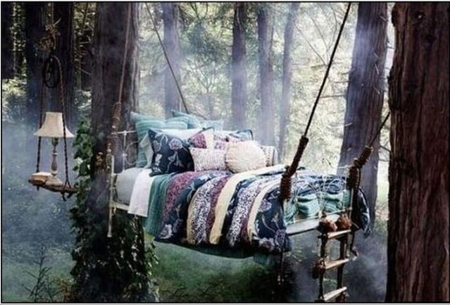 The Magical Hammock Swing Tree Bed