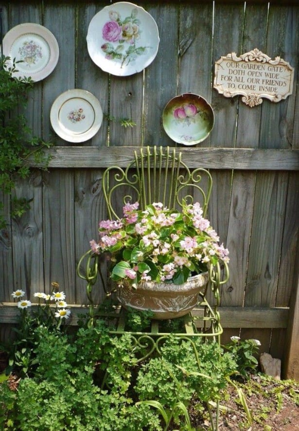 Best shabby chic vintage decor ideas #6
