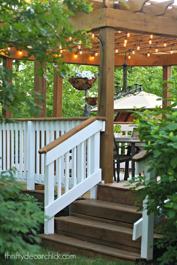Unique DIY deck railing ideas and designs #7