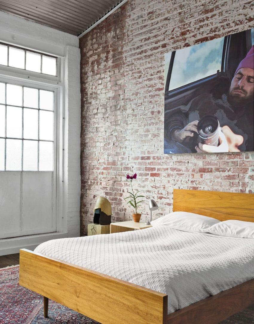 Cozy Warehouse Bedroom