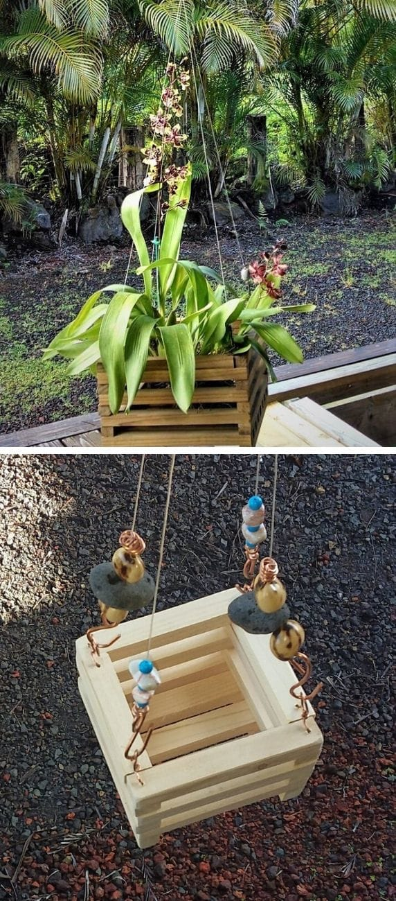 Best DIY outdoor hanging planter ideas and designs #7