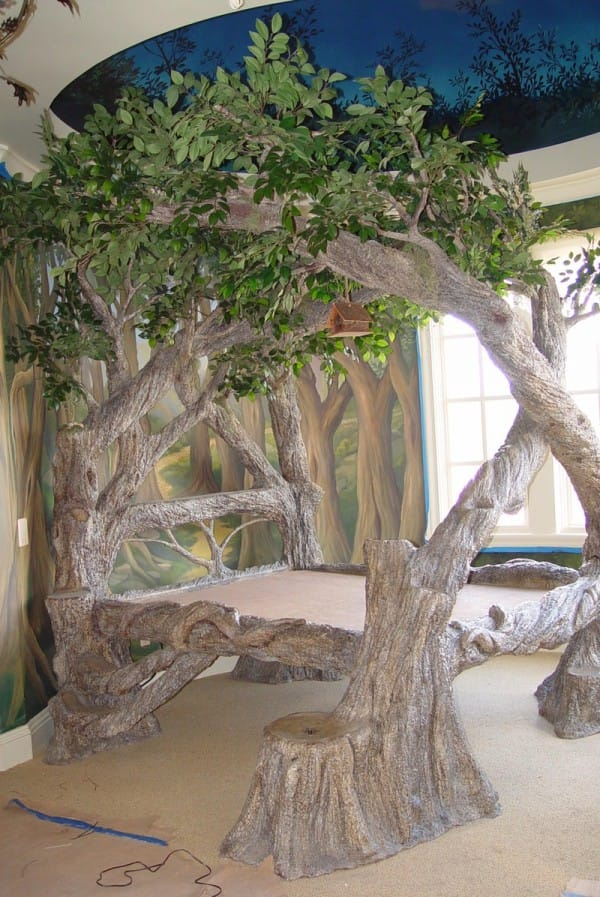 The Magical Jungle Tree Bed