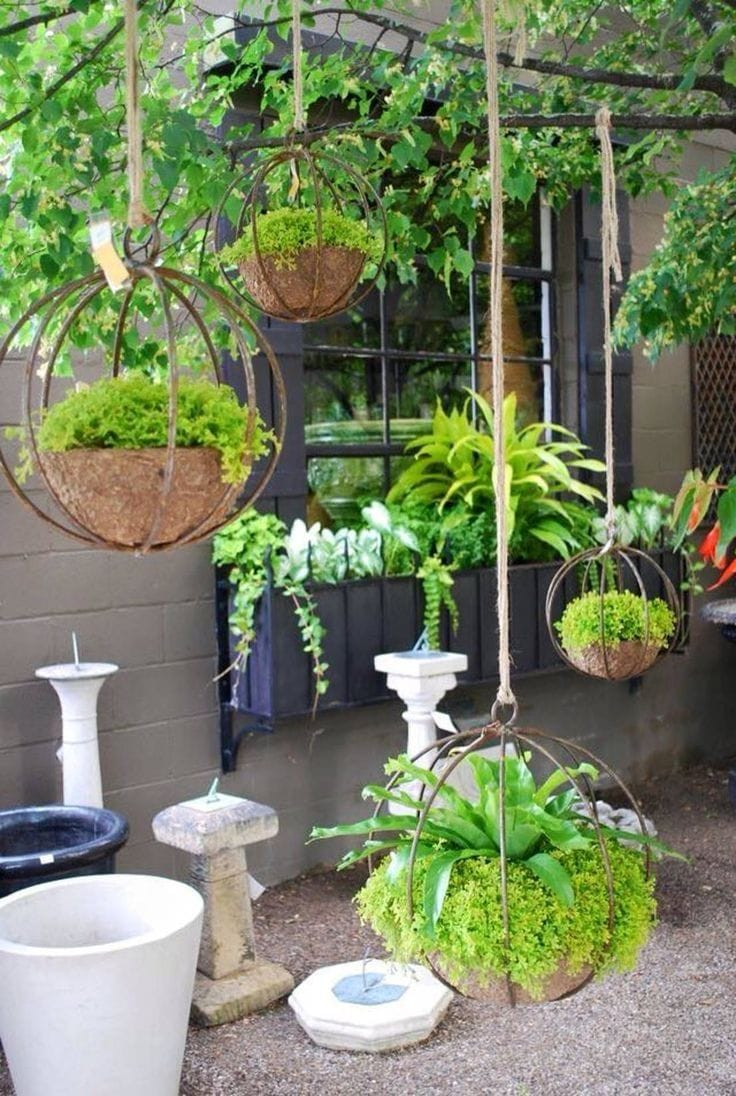 Best DIY outdoor hanging planter ideas and designs #8