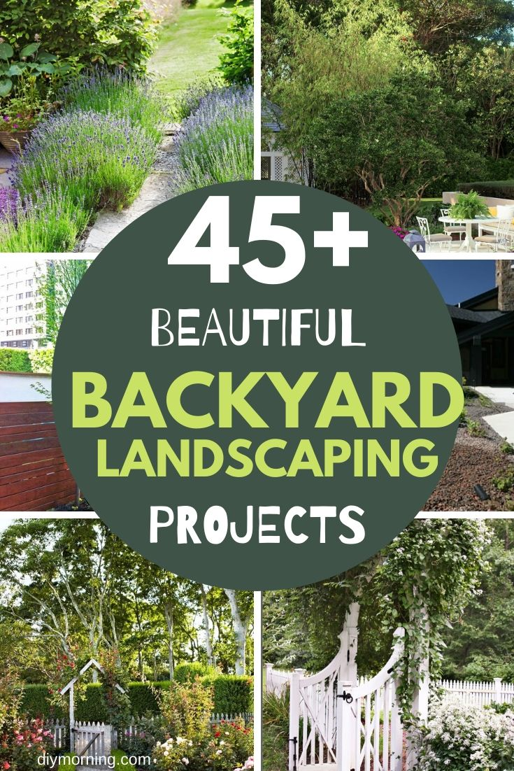Small and largge backyard landscaping ideas