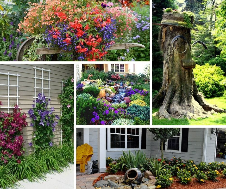 30+ Simple Front Yard Landscaping Ideas On a Budget - DIY ... on Yard Ideas On A Budget id=93949