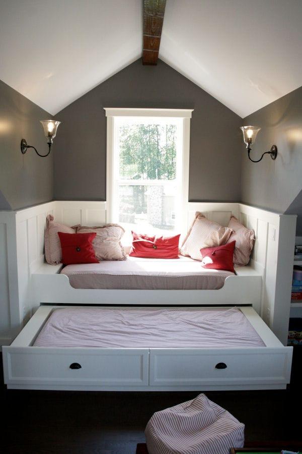 The attic built-in