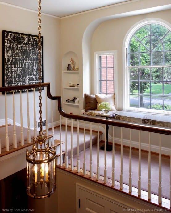 The hallway seat