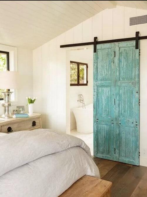 Bathroom Sliding Barn doors