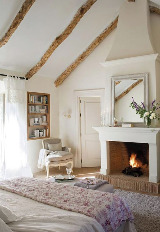 Add a Fireplace in Your Bedroom